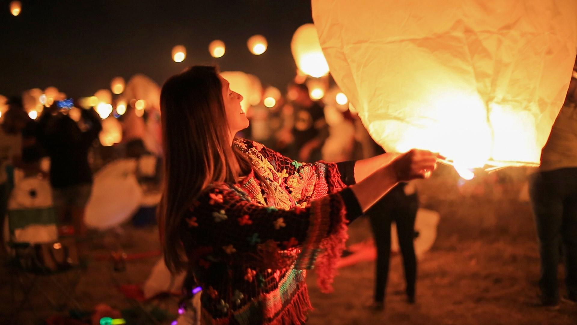 Experiencing The Lights Festival In San Antonio Texas